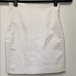 Guess by Marciano White Short Skirt